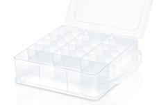 Jolifin Aufbewahrungsbox Shellac - clear