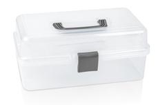 Jolifin Aufbewahrungsbox to go  - clear