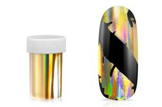 Jolifin Transfer Nagelfolie XL - Chrome unicorn gold
