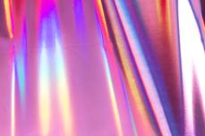 Jolifin Transfer Nagelfolie XL - Chrome unicorn rosy