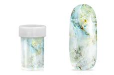 Jolifin Transfer Nagelfolie XL - Marmor mint