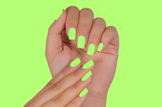 Jolifin LAVENI Shellac PeelOff - neon-candy green 12ml