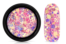 Jolifin LAVENI Mermaid Glitter - flamingo pink