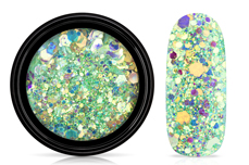 Jolifin LAVENI Mermaid Glitter - caipirinha lime