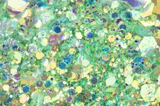 Jolifin LAVENI Mermaid Glitter - caipirinha lime