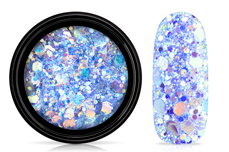 Jolifin LAVENI Mermaid Glitter - pool blue