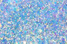 Jolifin Flakes & Glitter - türkis ocean