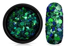 Jolifin LAVENI Chameleon Glittermix - emerald