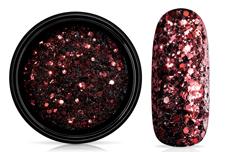Jolifin LAVENI Sparkle Glitter - bordeaux