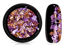 Jolifin Soft Foil Flakes - lavender-copper