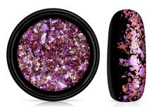 Jolifin Soft Foil Flakes - lavender-rosy