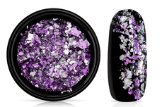 Jolifin Soft Foil Flakes - lavender-silver