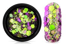 Jolifin LAVENI Chameleon Glittermix - purple snake