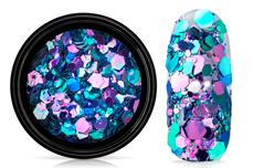 Jolifin LAVENI Chameleon Glittermix - purple galaxy