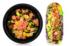Jolifin LAVENI Chameleon Glittermix - copper green