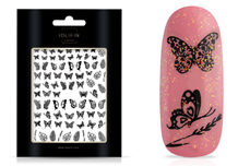 Jolifin LAVENI XL Sticker - Butterfly black