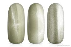 Jolifin LAVENI Shellac - Thermo Cat-Eye brown-olive 12ml