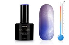 Jolifin LAVENI Shellac - Thermo Cat-Eye blue-rose 12ml