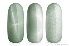 Jolifin LAVENI Shellac - Thermo Cat-Eye green-mint 12ml