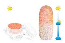 Jolifin LAVENI Solar Glitterpuder - apricot
