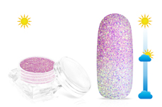 Jolifin LAVENI Solar Glitterpuder - purple