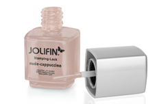 Jolifin Stamping-Lack - nude-cappuccino 12ml
