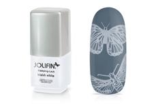 Jolifin Stamping-Lack - bluish white 12ml