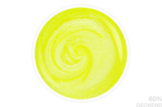 Jolifin LAVENI Shellac - neon-yellow pearl 12ml