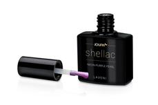 Jolifin LAVENI Shellac - neon-purple pearl 12ml