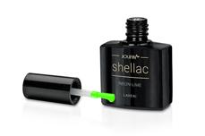 Jolifin LAVENI Shellac - neon-lime 12ml