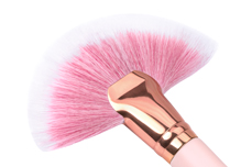 Jolifin Staubpinsel XL Fächer - rosa