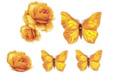 Jolifin Flora Nailart Tattoo Nr. 27