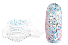 Jolifin Candy Glitter - white mermaid