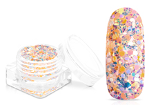 Jolifin Candy Glitter - juicy peach