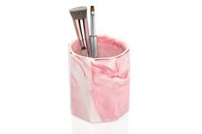 Jolifin LAVENI PRO - Keramik Pinselhalter rosa