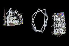 Jolifin Ombre Sticker - Nr. 6