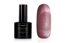 Jolifin LAVENI Shellac - Diamond Cat-Eye rosy 12ml