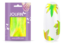 Jolifin Aurora Sticker - Leaf neon green