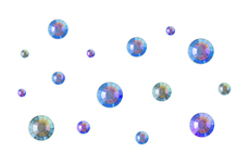 Jolifin LAVENI Strass-Display - chameleon purple-blue
