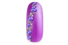 Jolifin LAVENI Strass-Display - chameleon purple-blue