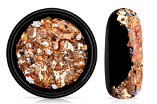 Jolifin Soft Foil Flakes - silver-copper