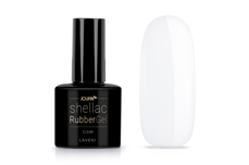Jolifin LAVENI Shellac RubberGel - clear 12ml