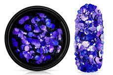Jolifin LAVENI Chameleon Glittermix - midnight purple