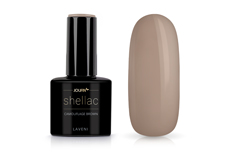 Jolifin LAVENI Shellac - camouflage brown 12ml