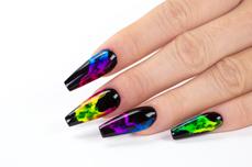 Jolifin LAVENI Pastell-Neon Pigment - Nightshine green