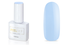 Jolifin LAVENI Shellac PeelOff - azure blue 12ml