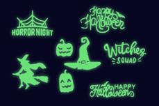Jolifin LAVENI XL Sticker - Nightshine Halloween Nr. 3
