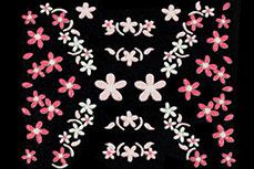 3D-Sticker Flowers Design 17