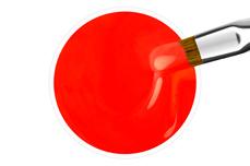 Jolifin Wetlook Farbgel neon-flame 5ml