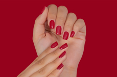Jolifin LAVENI Shellac PeelOff - red rose 12ml